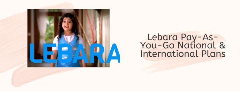 Lebara PAYG Bundles