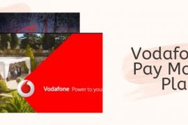Vodafone UK Plans for Pay Monthly Users