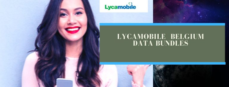 Lycamobile data plans for Blegium users
