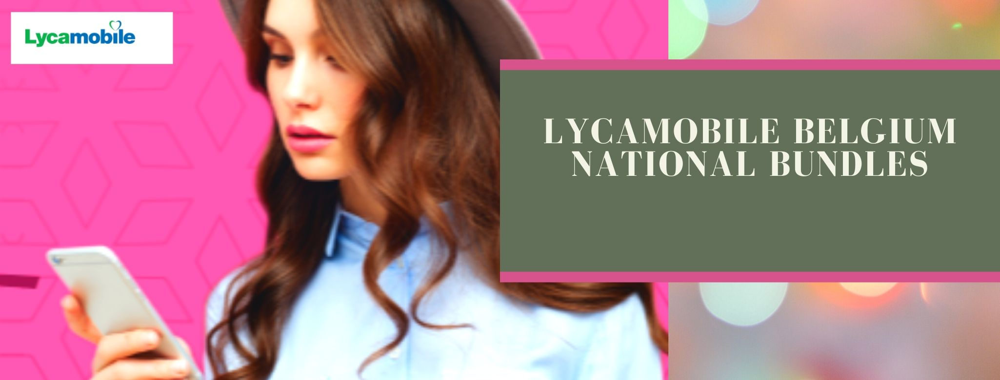 Lycamobile national call, SMS and data buckets for Blegium