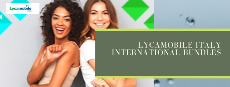 Lycamobile international call plans for Italy users