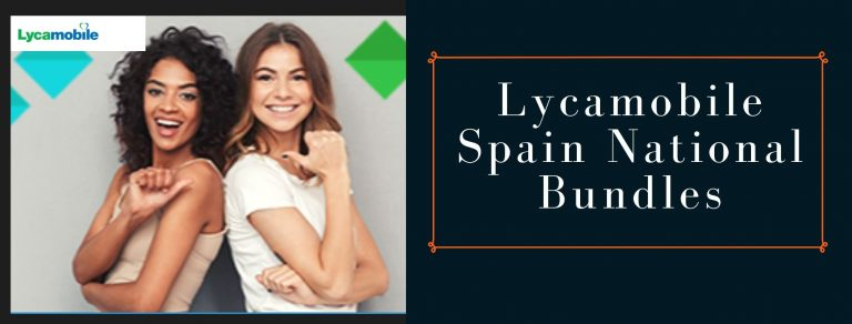 Lycamobile national SMS, call and data plans for Spain
