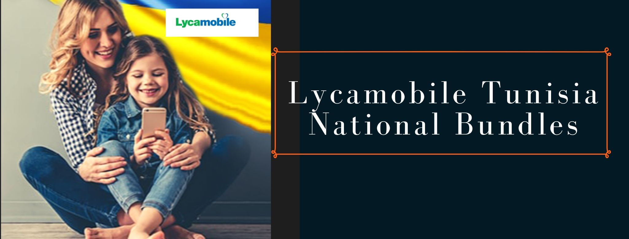 Lycamobile national SMS, call and data plans for Tunisia
