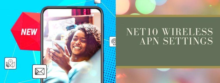 Net10 GPRS, Internet and MMS settings