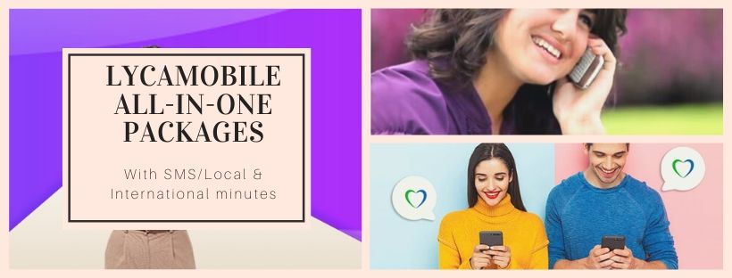 All-in-One Plans by Lycamobile UK