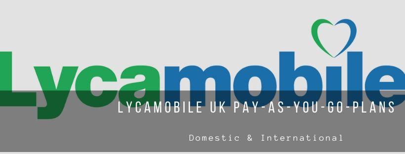 Lycamobile UK PAYG Plans