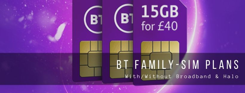 BT Family SIM Plans and Incentives