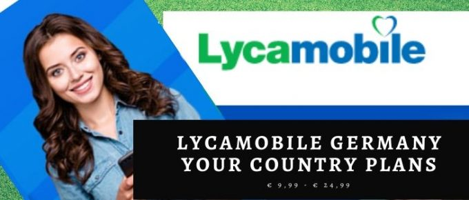 Lycamobile All countries plans for German Users