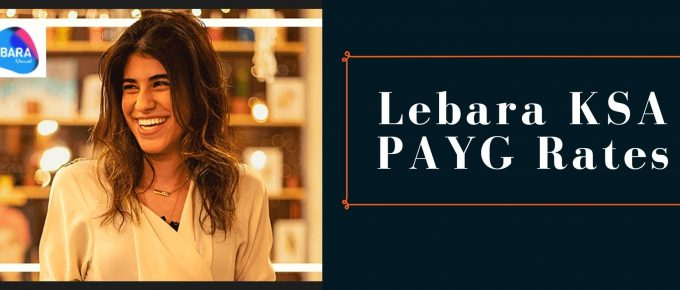 Lebara Pay As You Go Rates for KSA