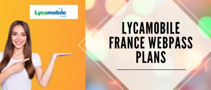 Lycamobile Internet packages for France