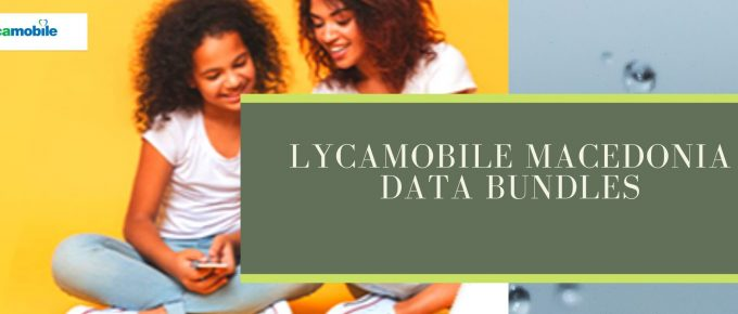 Lycamobile data plans for Macedonia