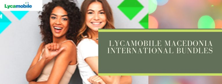 Lycamobile international call plans for Macedonia