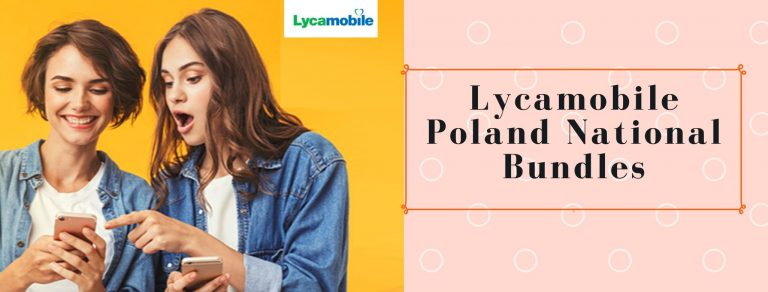 Lycamobile national SMS, call and data plans for Poland