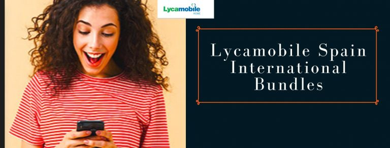Lycamobile international call plans for Spain