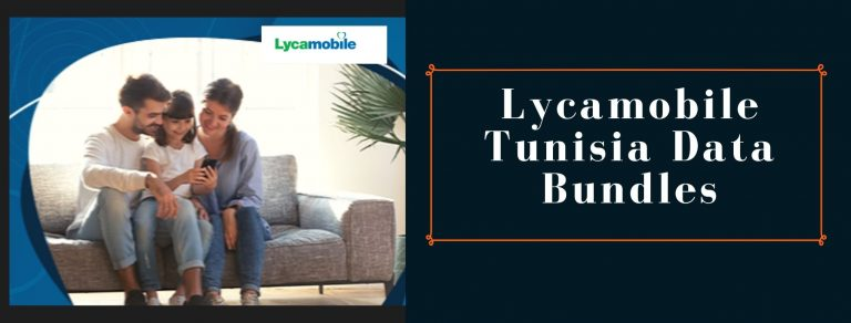 Lycamobile data plans for Tunisia users