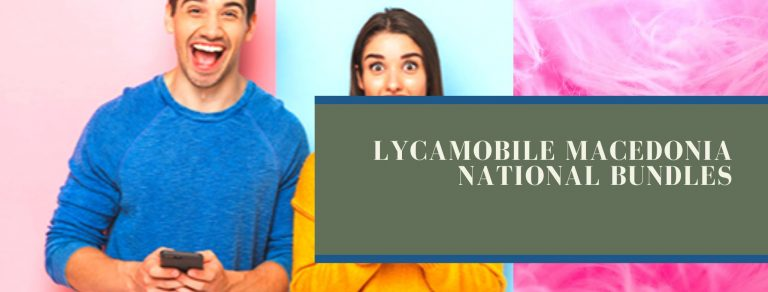 Lycamobile national SMS, call and data offers for Macedonia