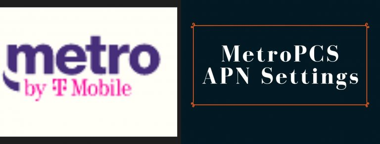 MetroPCS GPRS, Internet and MMS settings