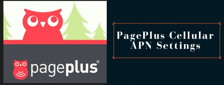 PagePlus Cellular GPRS, MMS and internet settings