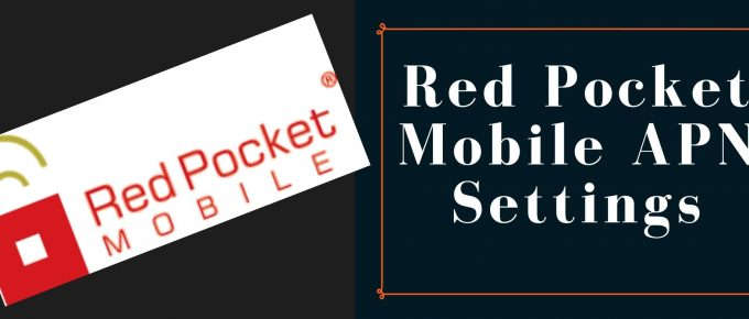 Red Pocket Mobile GPRS, Internet, MMS settings