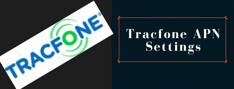 Tracfone GPRS, MMS and Internet settings